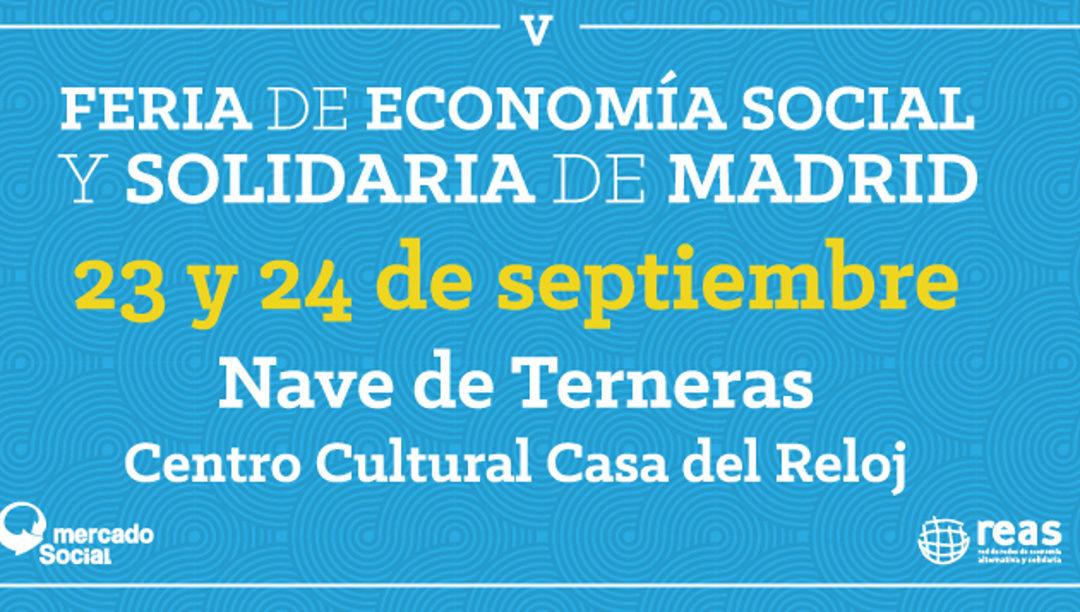 MARES Madrid en la V Feria del Mercado Social de Madrid.