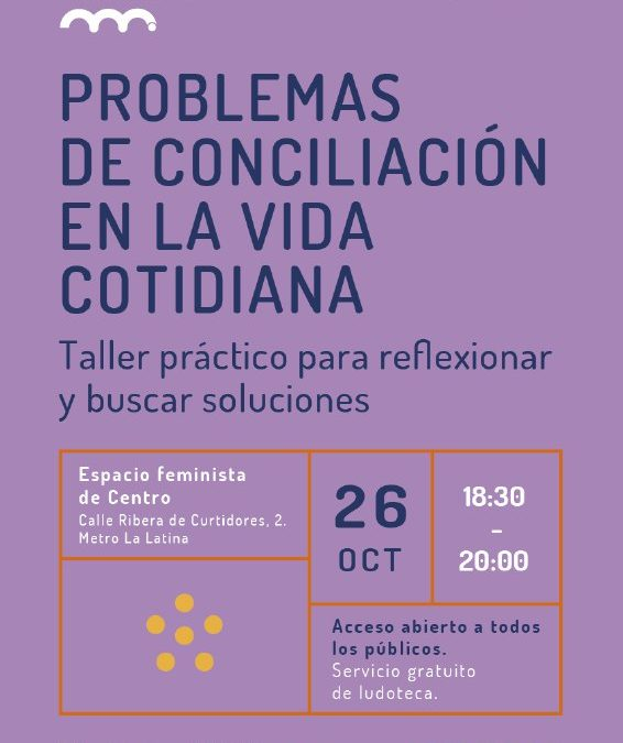 Problemas de conciliación en la vida cotidiana