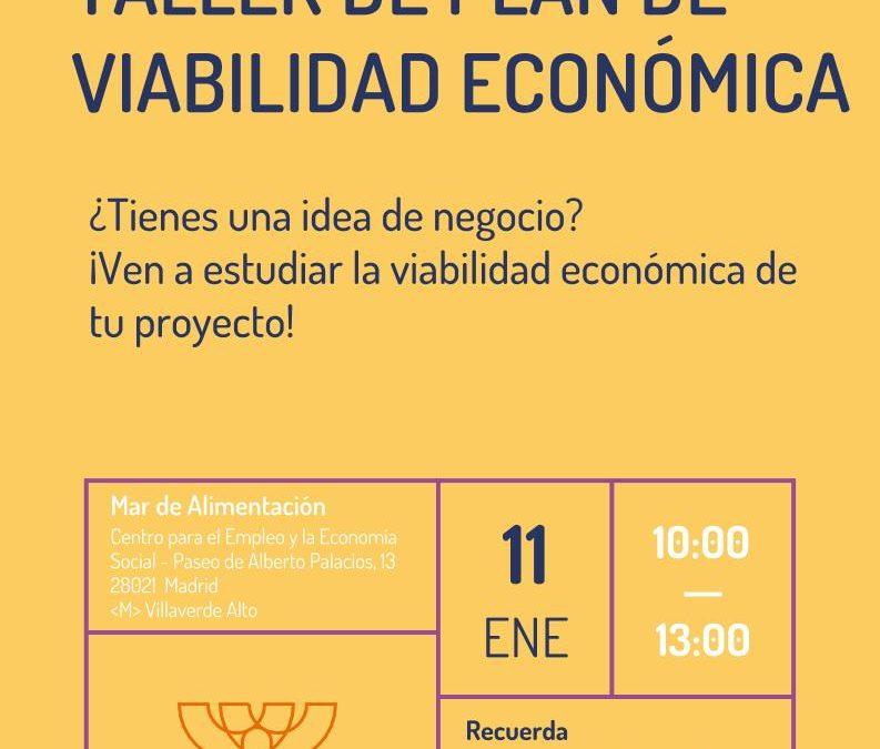 Taller de Plan de Viabilidad Económica
