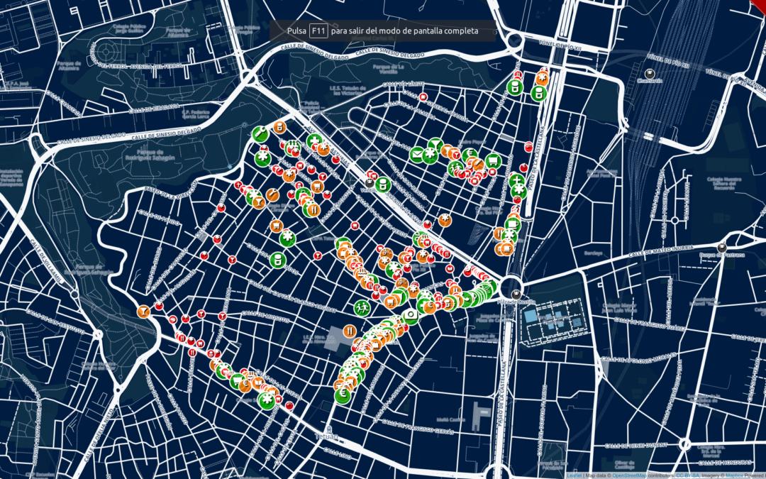 Geoinquietos: mapeo y digitalización para favorecer la accesibilidad
