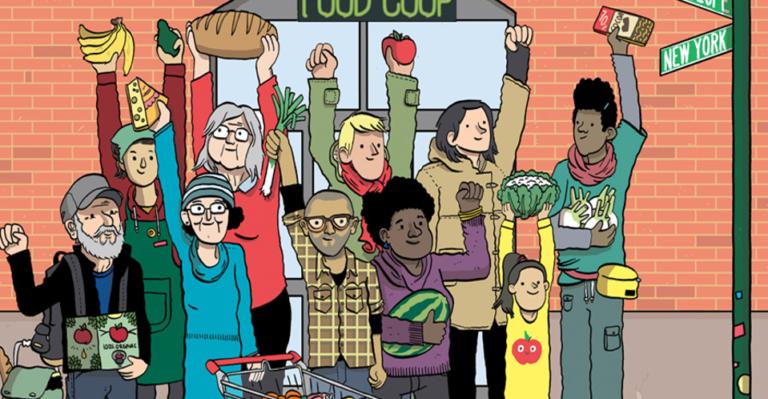 Proyectamos el documental FOOD COOP en el Teatro del Barrio