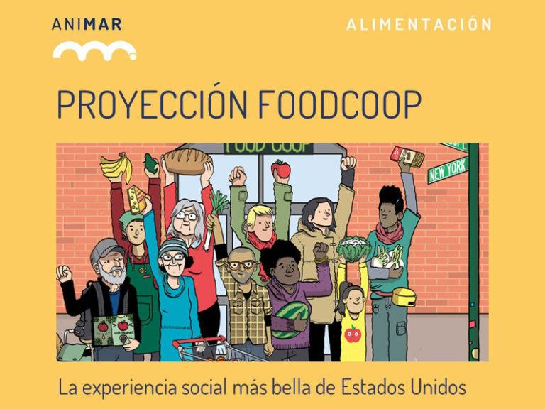 Proyectamos el documental FOOD COOP en el Centro de Mayores de Aravaca