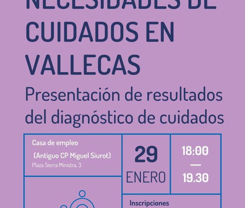 Las necesidades de cuidados en el distrito de Puente de Vallecas