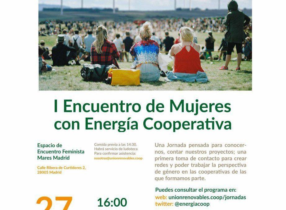 I Encuentro de Mujeres con Energía Cooperativa