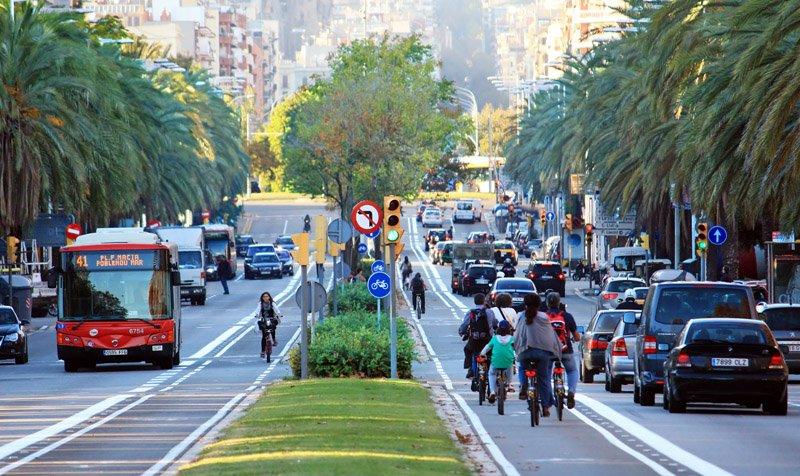 ¿Un carril bici en la Castellana?
