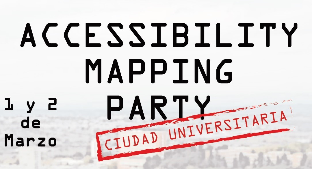 Accessibility Mapping Party: Recogida de datos