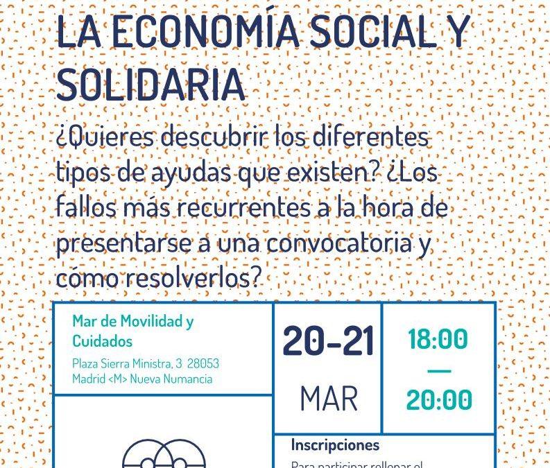 Ayudas para las entidades de la Economía Social y Solidaria