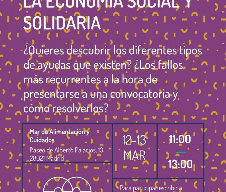 Ayudas a las entidades de la Economía Social y Solidaria