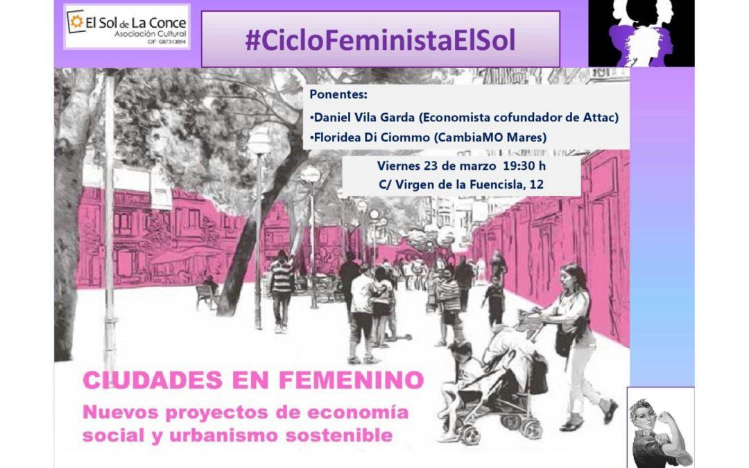 Ciudades en femenino: nuevos proyectos de economía social y urbanismo sostenible
