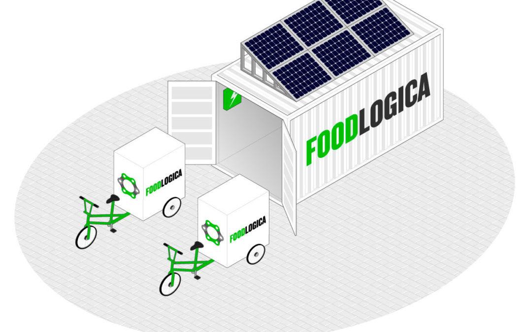 CAP de Ciclologística: una cadena de frío certificada a pedal