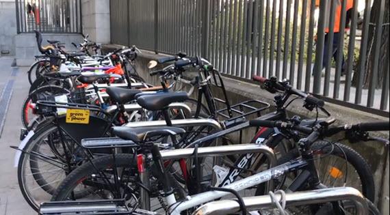 'Buenas prácticas: En bici al trabajo'