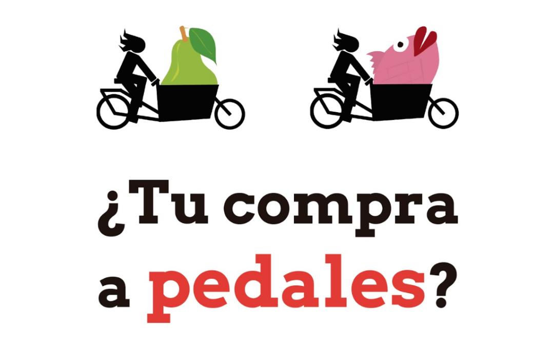 ¿Es posible repartir 140 kilos de peras en bici?