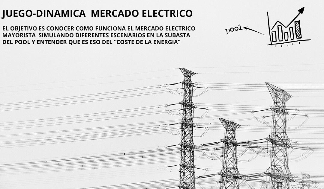 Juego-dinámica del mercado eléctrico: Ven a jugar al Pool eléctrico