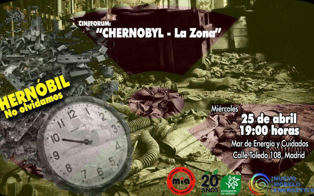 "Cine Forum ""CHERNOBYL – La zona"""