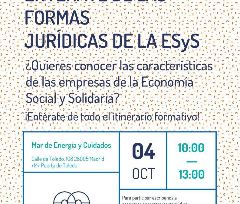 Entérate de las formas jurídicas de la Economía Social y Solidaria