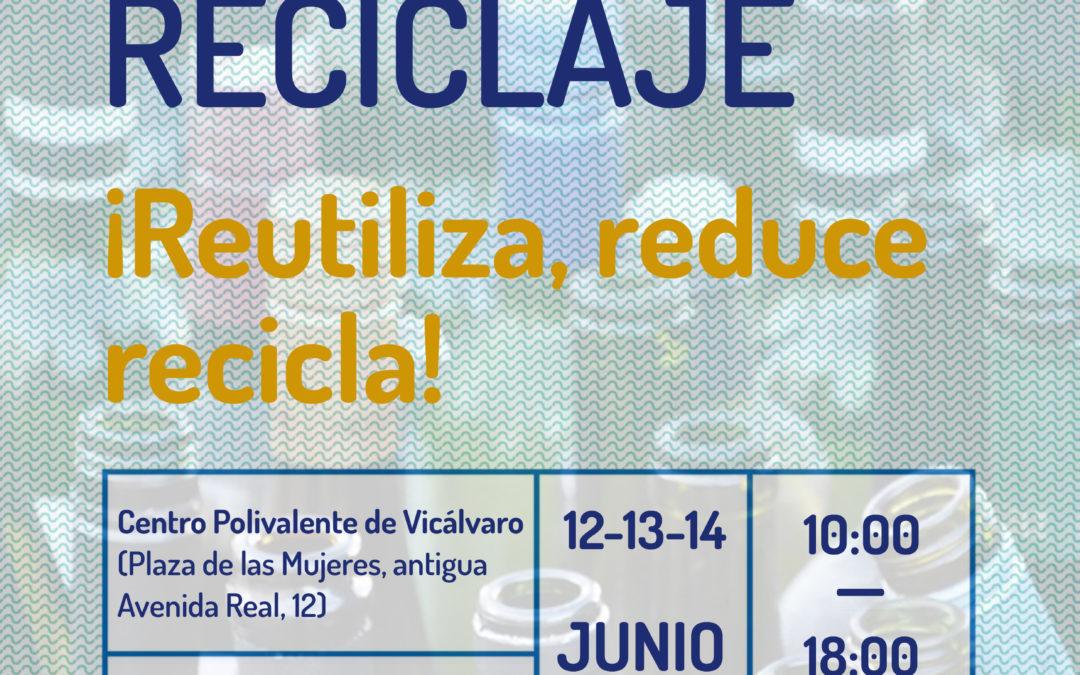 Semana del Reciclaje: ¡Reutiliza, Reduce, Recicla!