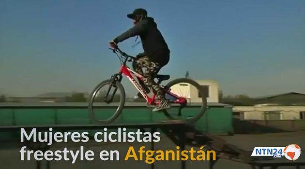 Proyección documental: 'Mujeres ciclistas freestyle en Afganistán'