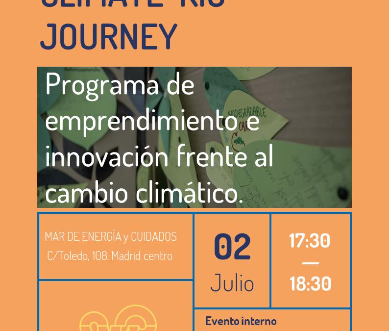 Climate Kic Journey – Programa de emprendimiento e innovación frente al cambio climático