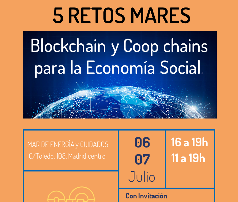 MARESTON:  5 retos Mares, Blockchain y Coop Chains para la economía social