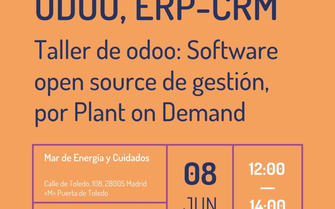 Taller de odoo: Software open source de gestión
