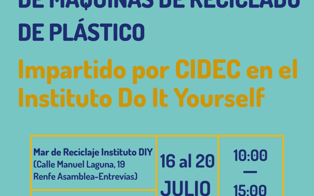 Talleres de Fabricación de Máquinas de Reciclado de Plástico