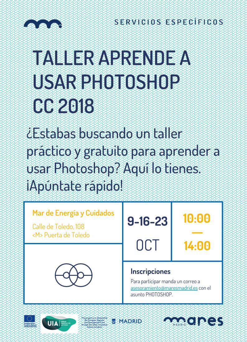 Curso Gratuito De Photoshop Cc2018 Mares Madrid
