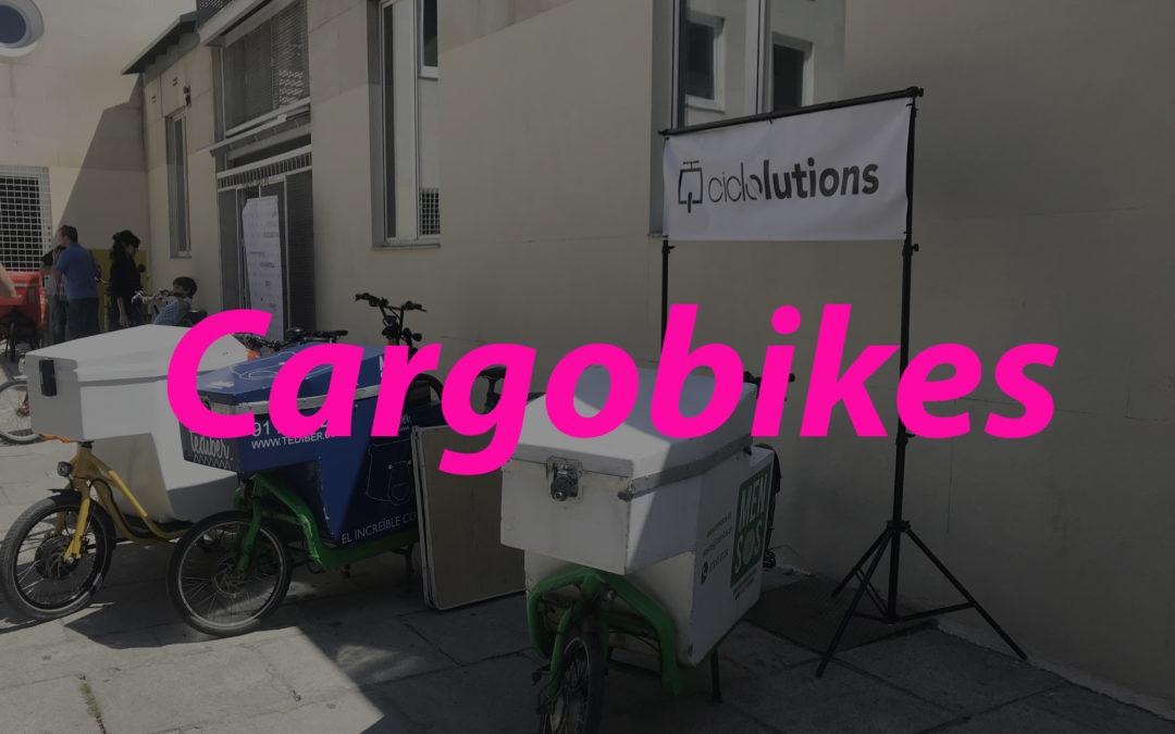 Cargobikes. Movilidad 100% sostenible.