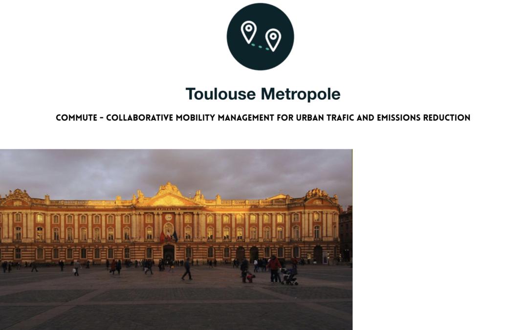 CAP Movilidad al trabajo. Presentación del proyecto UIA COMMUTE Toulouse