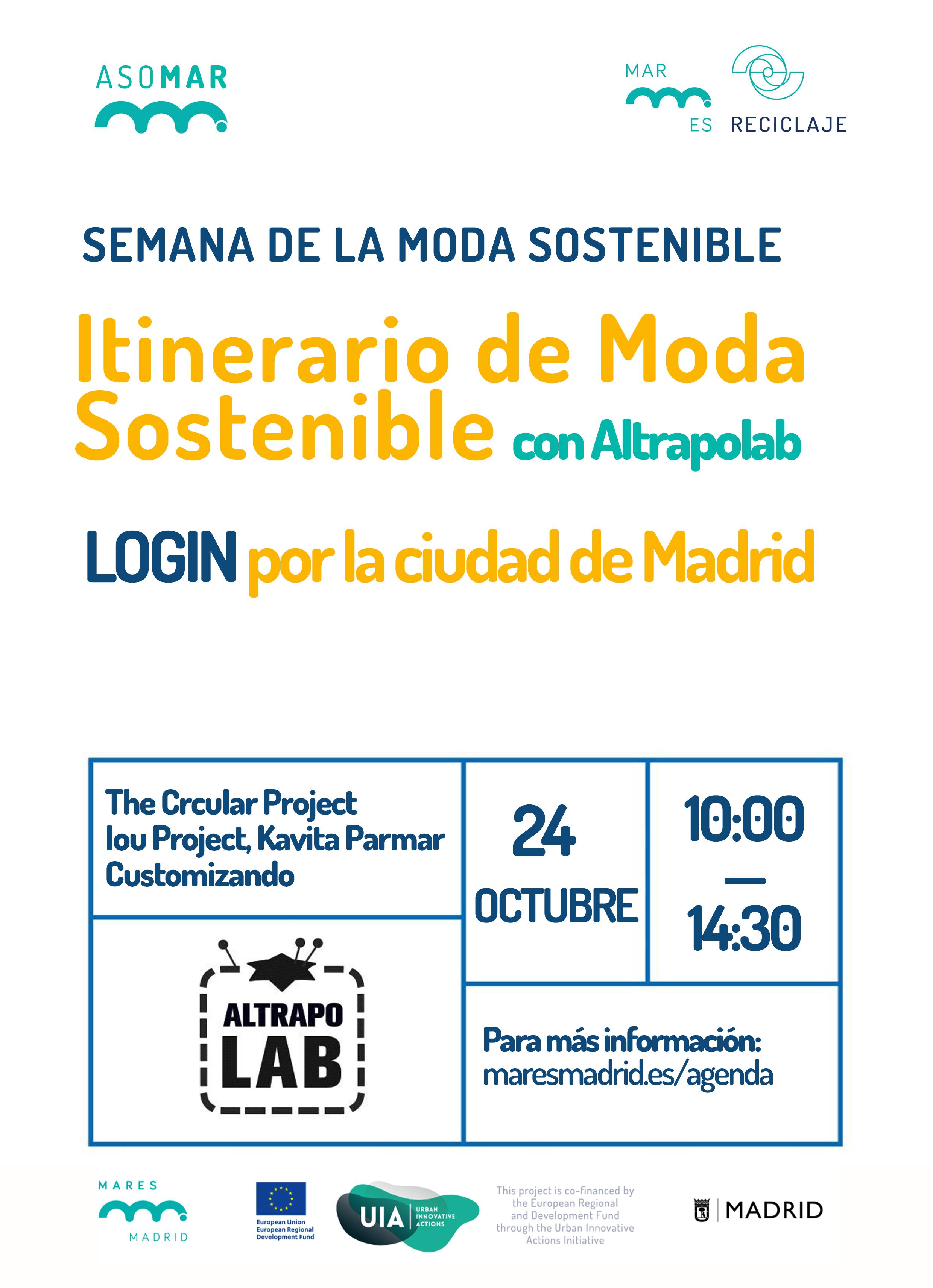 Itinerario de moda sostenible por la ciudad de Madrid · Mares Madrid