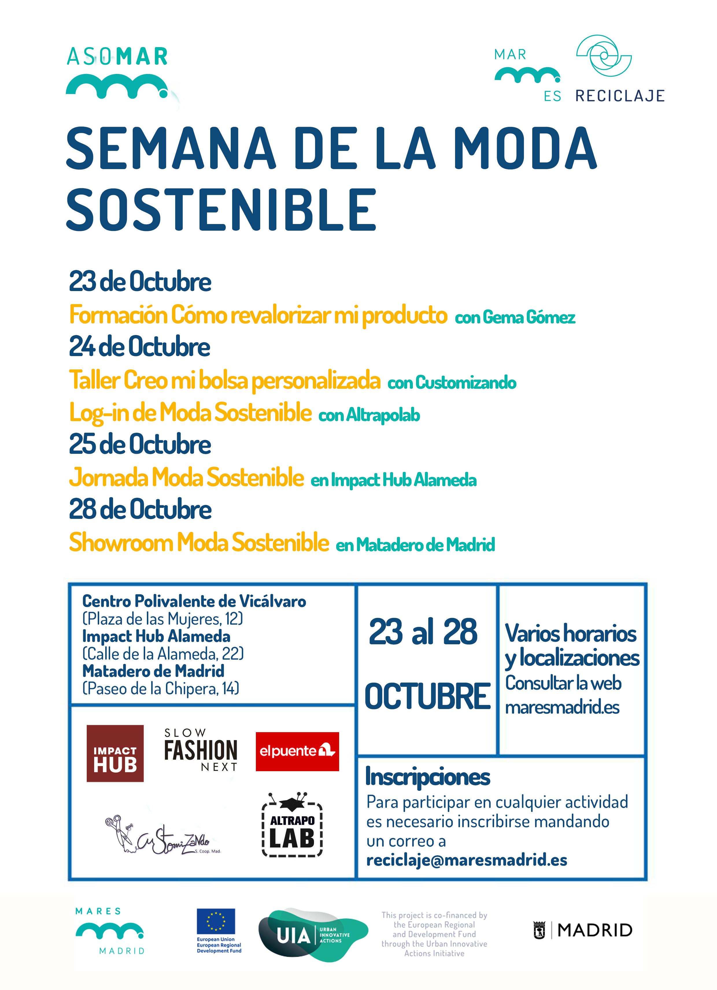 Semana de la Moda Sostenible · Mares Madrid