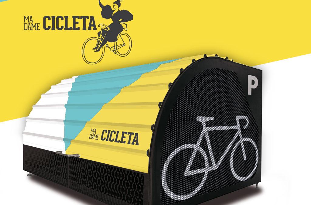 Madame Cicleta: el garaje de tu bici en la calle