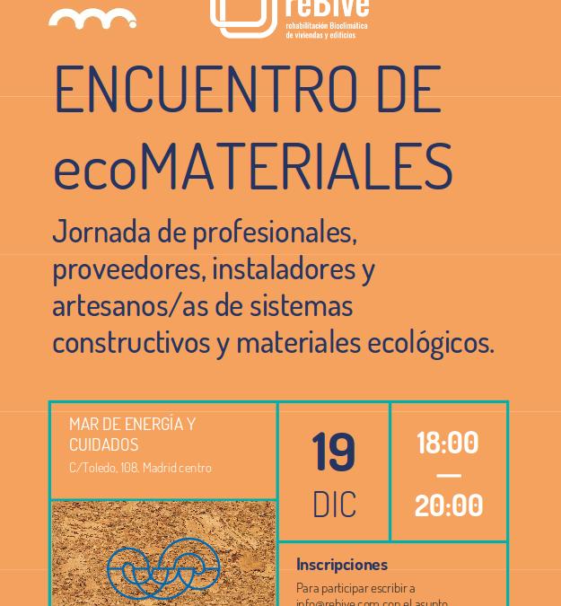 Encuentro de ECOmateriales