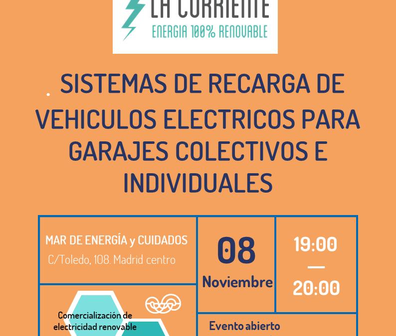 Sistemas de recarga de vehículos eléctricos