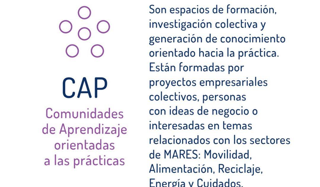 Sesión CAP Corresponsabilidad en la Economía Social y Solidaria