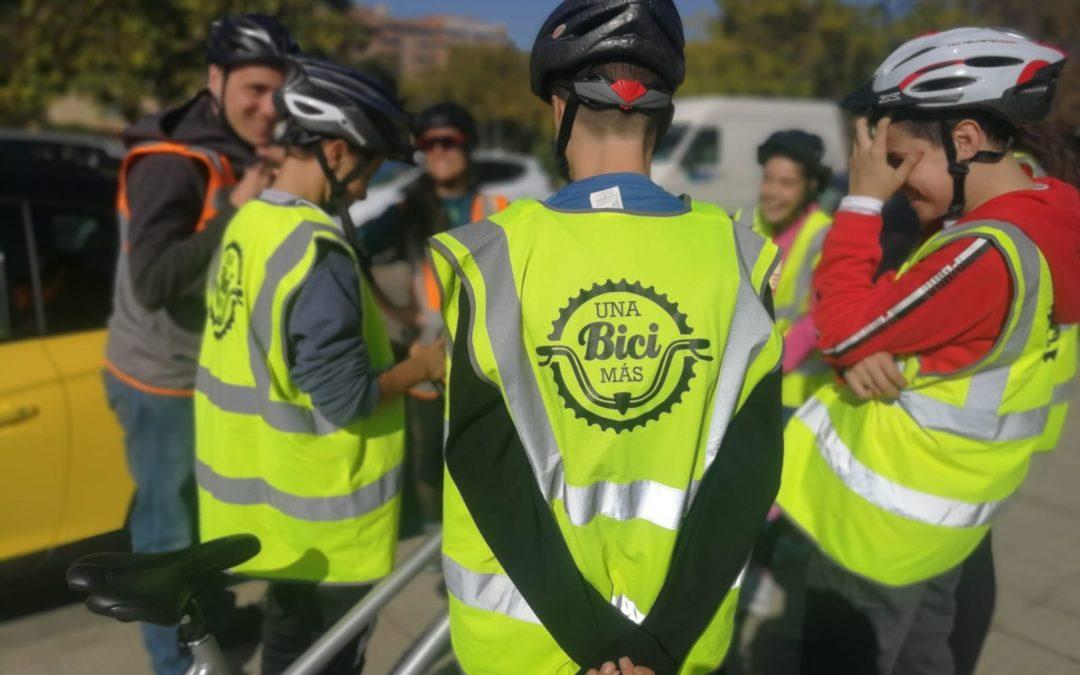 """Presentación de """"Una bici más"""" en el Congreso Nacional de Medio Ambiente"""