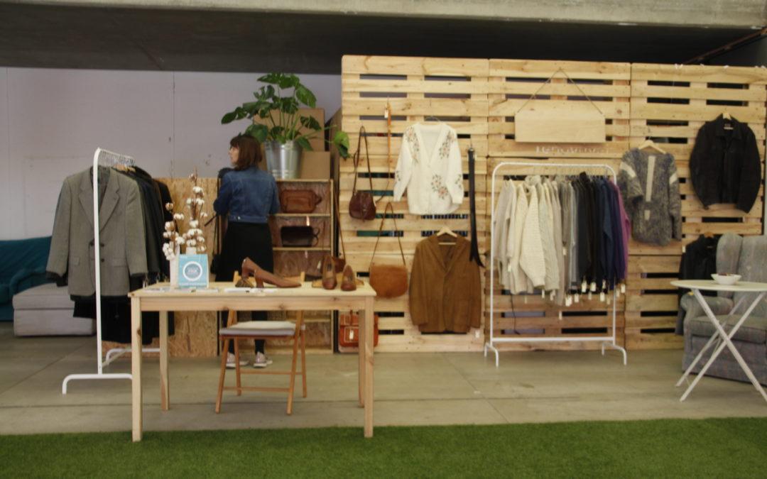 Un mercado de moda sostenible para el consumo consciente y responsable