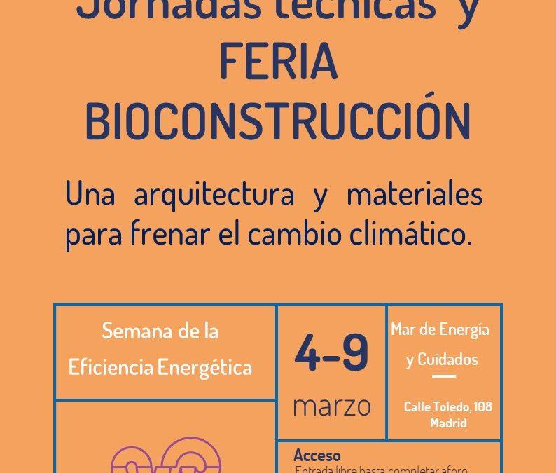 Jornadas técnicas de eficiencia energética y Feria de Bioconstrucción