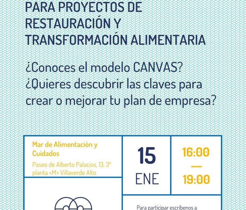 Taller de modelo de negocio para proyectos de restauración y transformación alimentaria