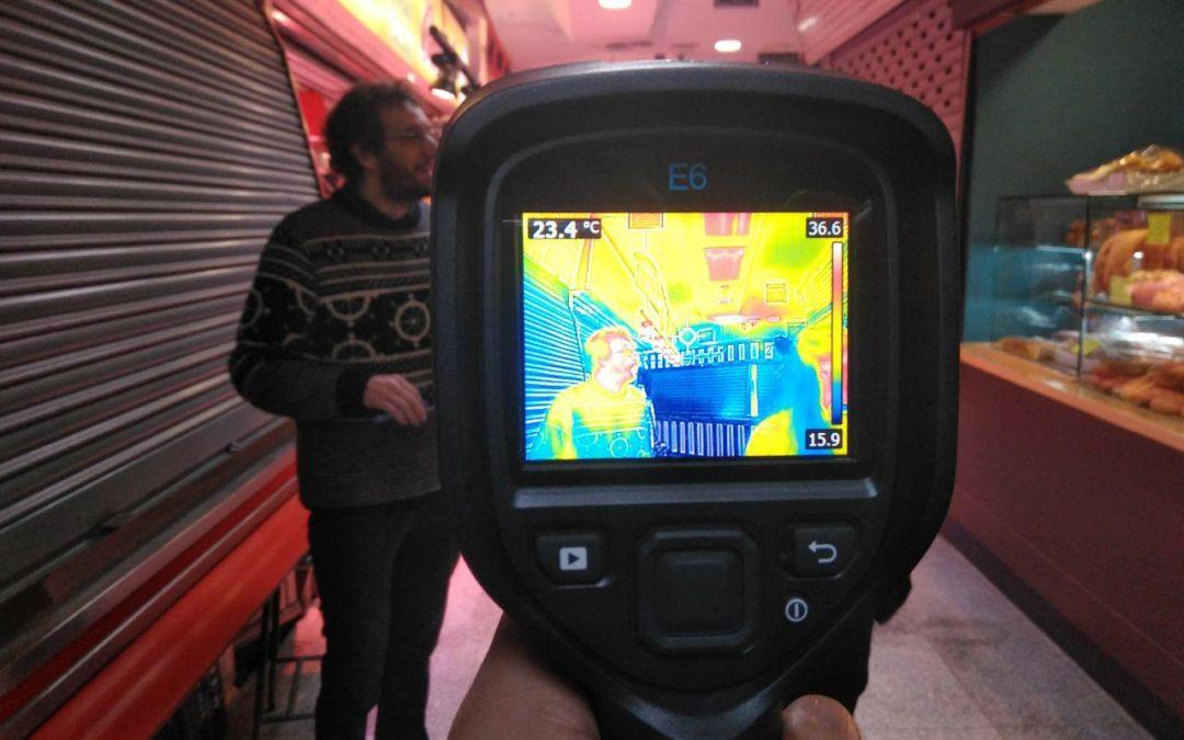 Un safari termográfico para concienciar sobre la eficiencia energética