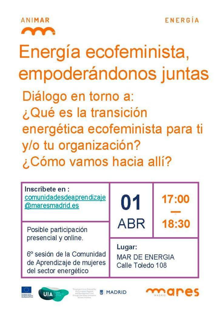 CAP energía ecofeminista