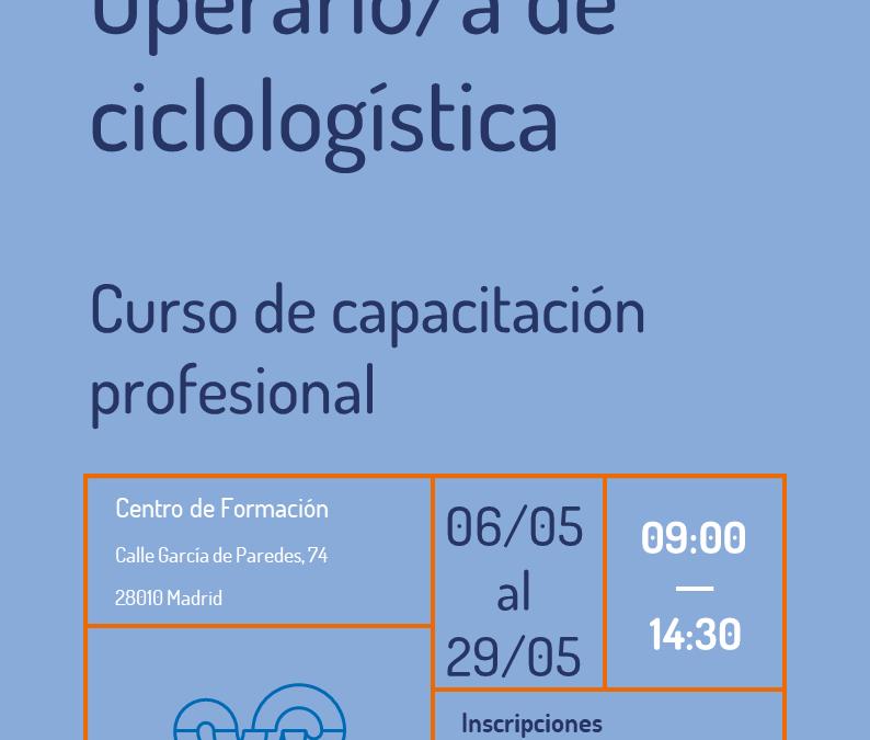 Curso de operario/a de ciclologística (aplazado al 6 de mayo)