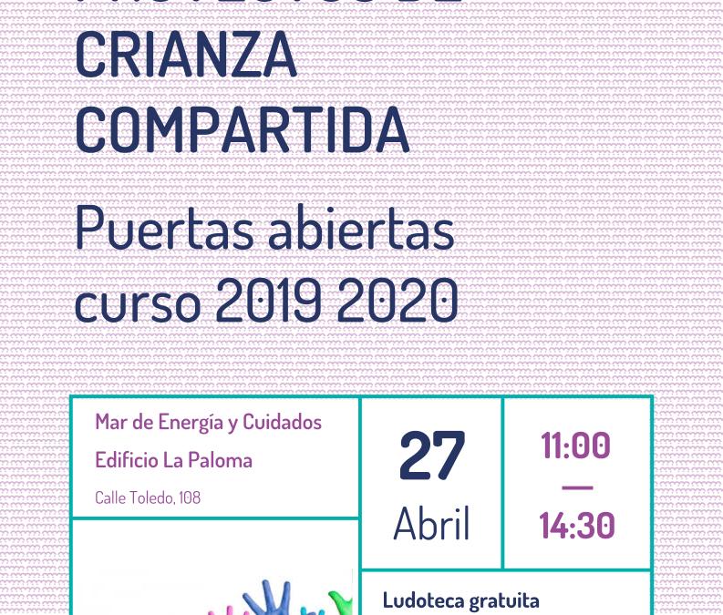 Proyectos de crianza compartida. Puertas abiertas curso 2019-2020.