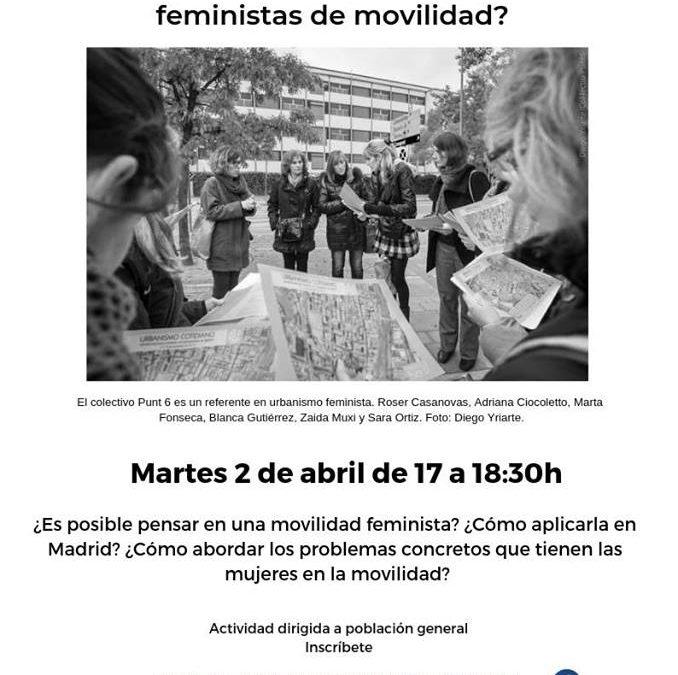 CAP Feminismos y movilidad: ¿Puede moverse Madrid según las necesidades de las mujeres?