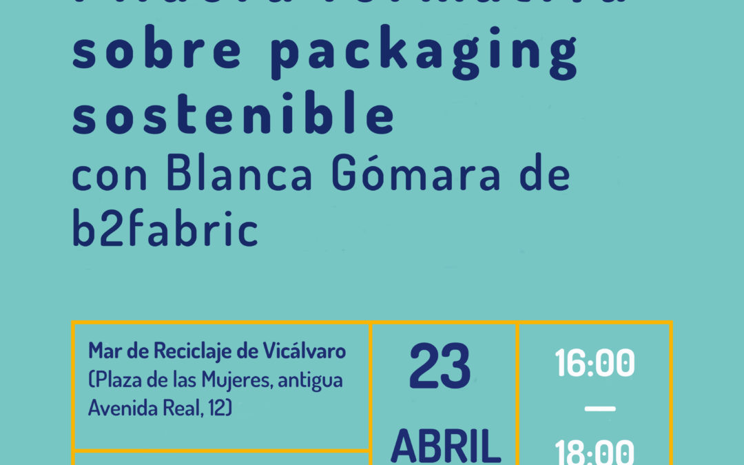 Píldora formativa sobre packaging sostenible
