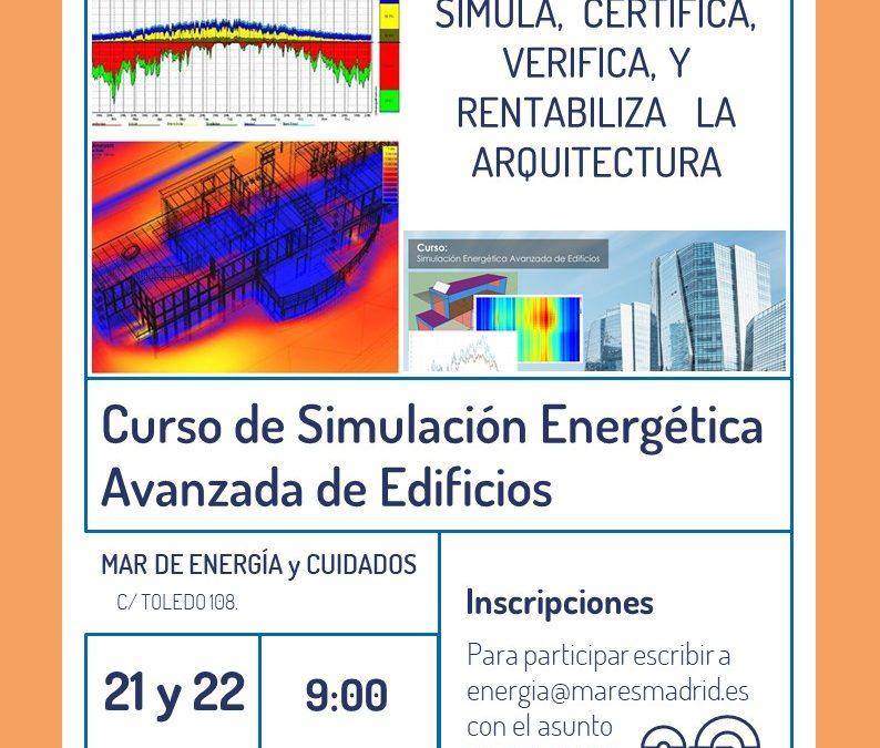 Curso de Simulación Energética Avanzada de Edificios