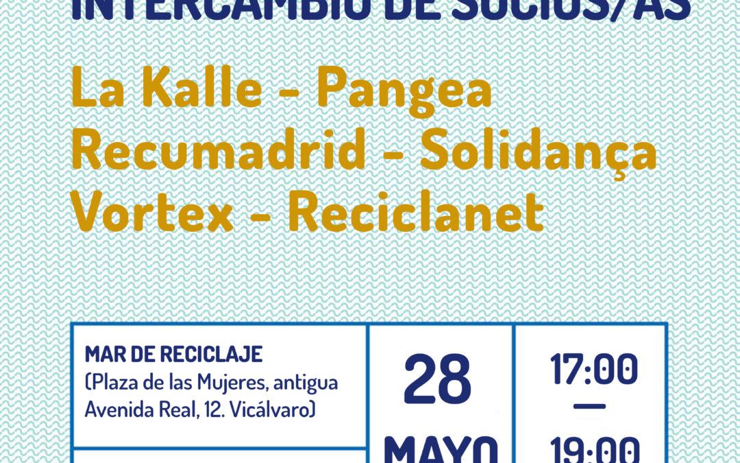 Presentación intercambio de socios/as: La Kalle, Recumadrid y Vortex