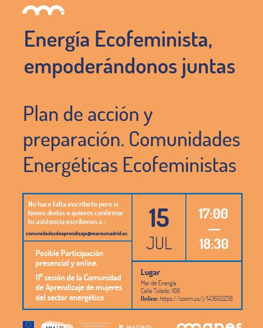 CAP Energía ecofeminista, empoderándonos juntas