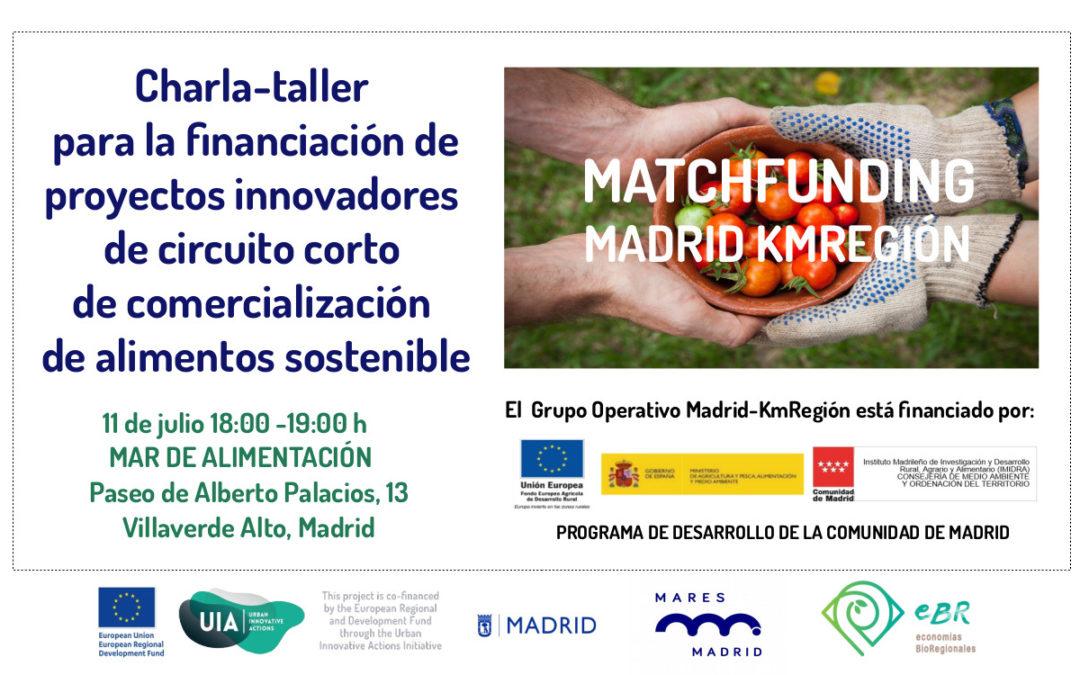 Charla Matchfunding Madrid KmRegión
