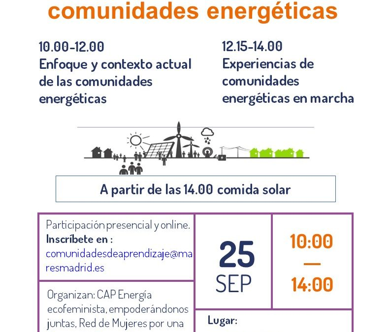 Impulsando las comunidades energéticas