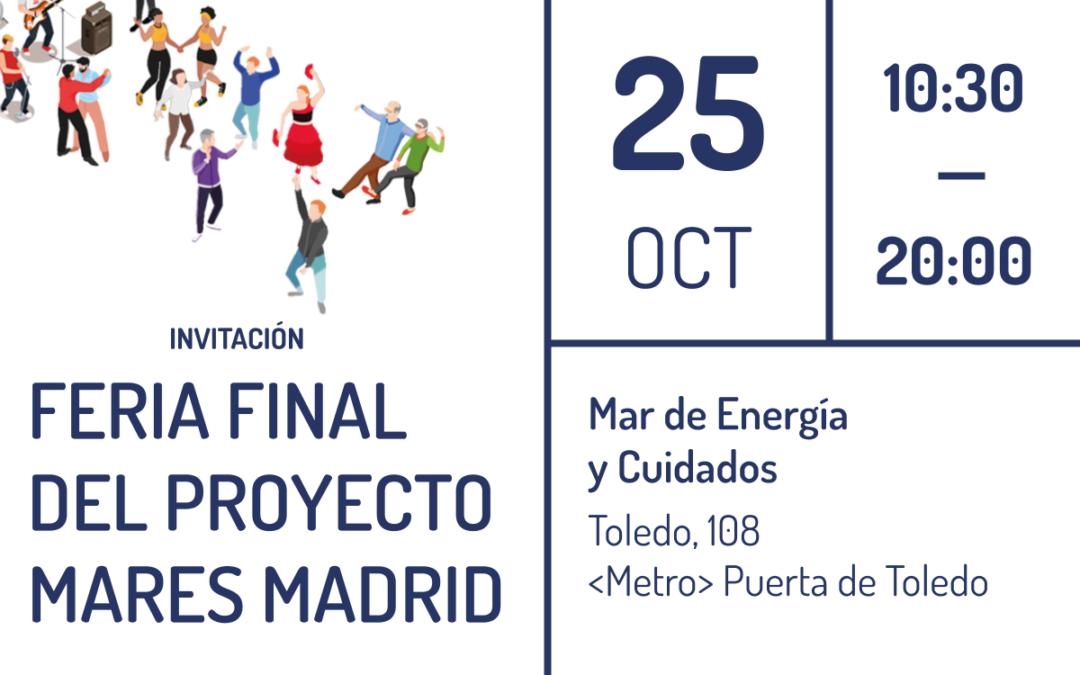 Feria final del proyecto MARES: te esperamos el 25 de octubre